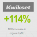 digital marketing by krixis consulting increased kwikset trafific 114 percent
