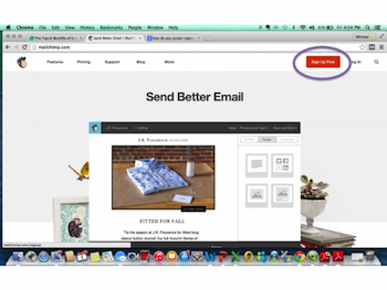 setting up email marketing management for small business