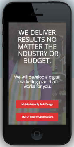 small business marketing responsive web design
